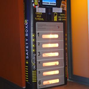 kiosk charging station olebox