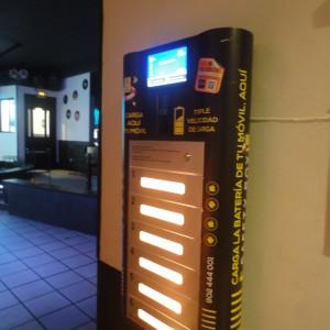 phone charging station kiosk