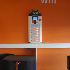 mobile charging kiosk