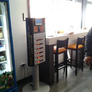 Máquina de recarga de Baterías para Móviles olebox