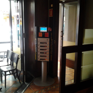 cell phone charging station kiosk for sale